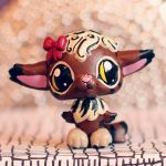 Molly the Meowl (OC) LPS custom by pia-chu
