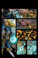 Warmachine Comic 1 of 3 by CreationMatrix