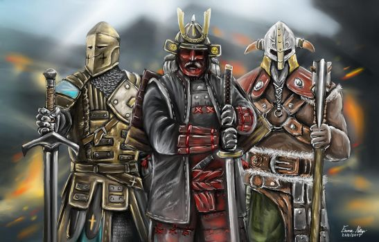 For Honor by EmmaNettip