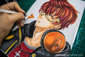 Mystic Messenger 707 by Mistiqarts
