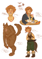 were!Yosuke Reference Sheet by AestheticCannibal