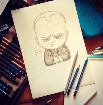 The Boss Baby by Findiel