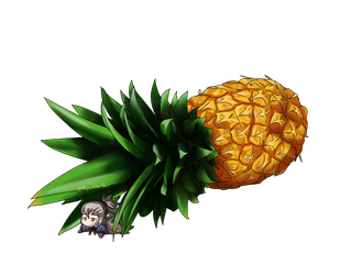 Pineappukimi by MaruHimeChan