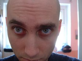 scary baldy by stupidstock
