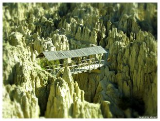 Valle de la Luna Bridge by DeadFishStudio