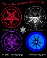 Sigils of The 4-Crown Princes by DBlackthorne