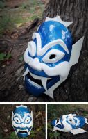 Blue Spirit Mask by TheCuraga