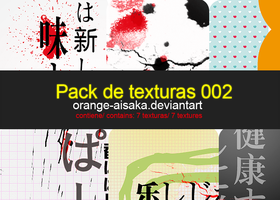 PACK DE TEXTURAS 002 by Orange-Aisaka