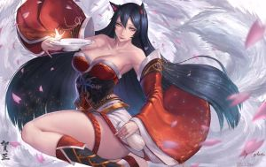 Ahri by Gtunver