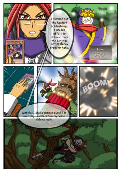 YGO Doujin Bonus Chapter - Wally's Agent - Page 10 by punkbot08