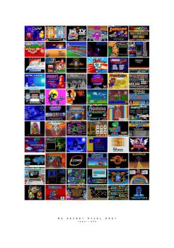 My Secret Pixel Past 1990-1996 by pickassoreborn