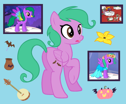Squeaky Clean MLP RP OC by SweetButtonPie
