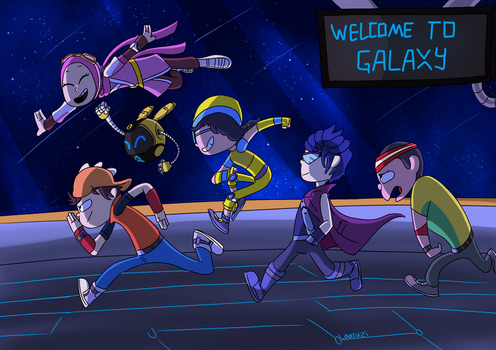 Welcome to Galaxy by Laasuzi