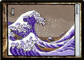 Great Wave Island by MythicAlters