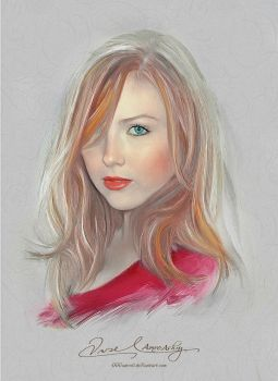 Pretty Face - Molly Quinn by artistamroashry