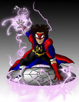 DC-Marvel Mashup: Static Spider by DCGIL