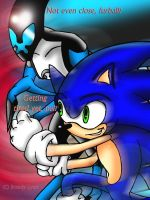XLR8 vs SONIC by TheBig-ChillQueen