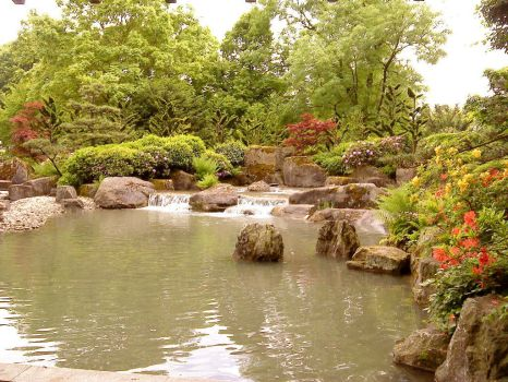 Japanese Garden by Fatality86