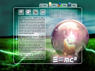 Natural Energy Web Interface by mm1412
