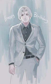 Happy Birthday Yomo by k1deki