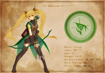 Character Sheet - Clover by AG-Publishing