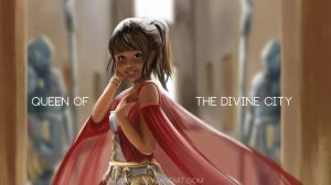 queen of divine city by YumiBaker