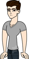 Total Drama John DeLuca by TDSuperFan