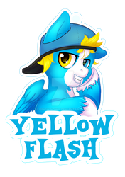 YCH badge by Pingwinowa