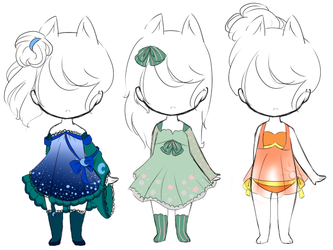 Outfit Customs:7 by bunniiadopts