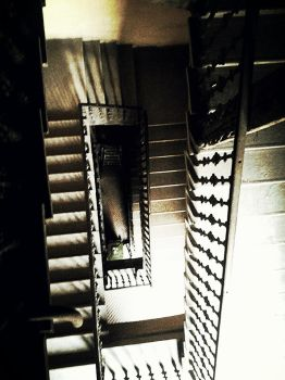 Stairs to the deep by Bonasia