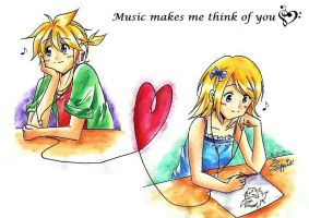 Music makes me think of you by suppiechan25