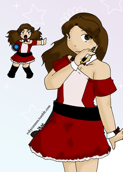 Tumblr said draw Magical Girl Clara by RubyCosmos