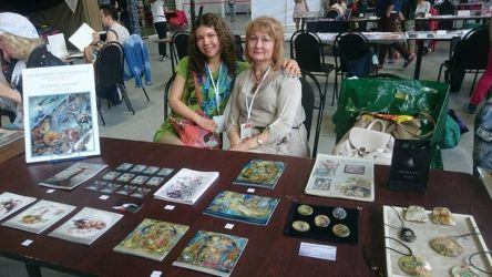 Moscow comic convetion, the authors alley by KseniyaLvova