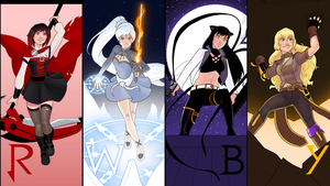 RWBY Vol 5 Background by Cadhla182