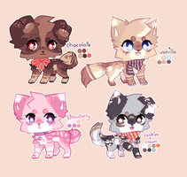 + ice cream pupper adopts + [closed] by magpaii