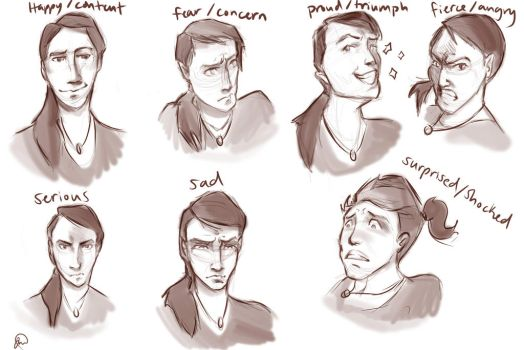 Character Expressions - Kit by Aui-song