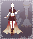 [Close] Adoptable Outfit Auction 20 by Kolmoys