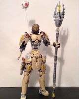 Tabuhra, Toa of Sand WIP 02 by MrBoltTron