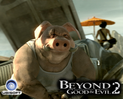 Beyond Good and Evil Wallpaper by nakashimariku