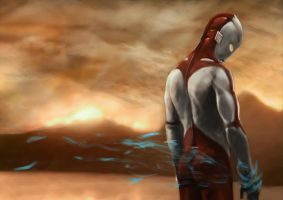 So long Ultraman by ekoyagami