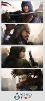 Assassin's Creed Unity Banner by Brilcrist