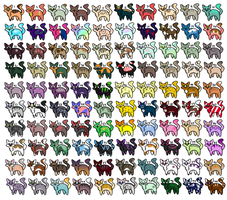 100 Cat Adopts (45/100 Open) by Discrete-Disguise