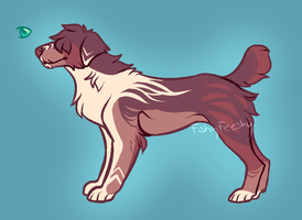 Terrier Dog Adopt (CLOSED) by Cloud-Adopts