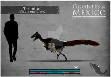 TROODON by PAVELOWSKY
