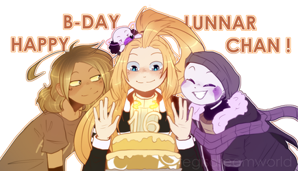 HAPPY B-DAY, LUNN!!! [B-DAY Gift] by RegiREGE