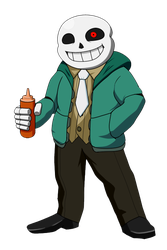 Waiting for Sans - AttorneyTale by Dynakirby63