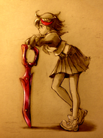 kill la kill by Amorphous-blob