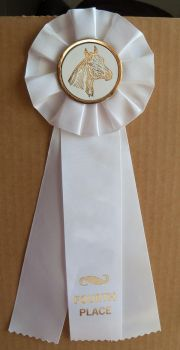 Horse Show Ribbon 4th Stock by Lovely-DreamCatcher