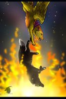 Fall in the fire by thelunapower