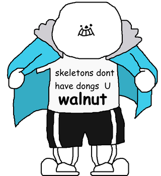 Sans Has A Response To Undertail. by welegi